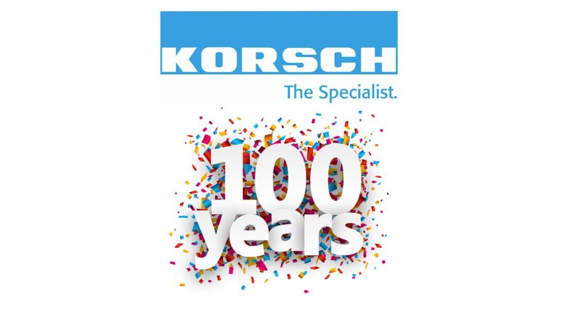 Korsch 100 ans
